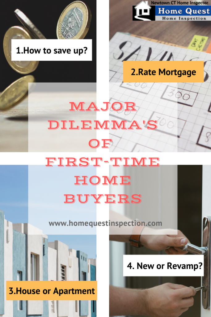 First-Time Home Buyers major dilemmas