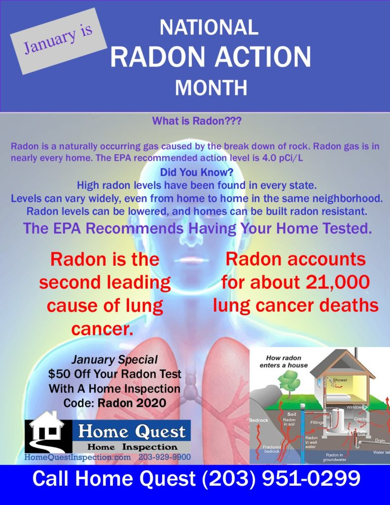 January 2020 Radon action Month